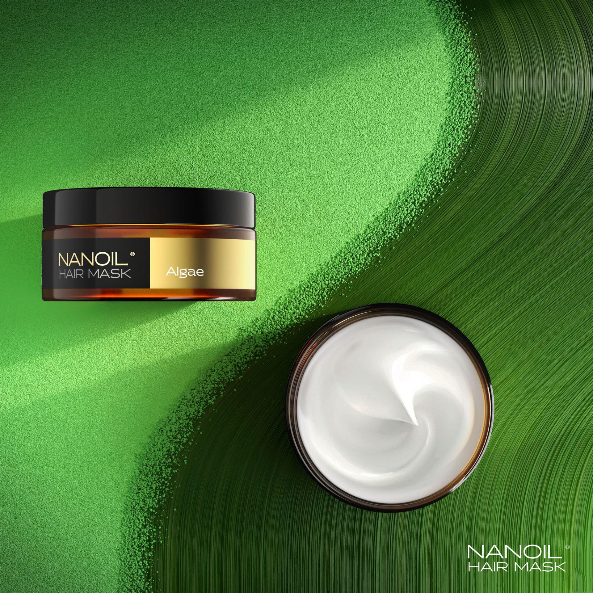 Testuję algi na włosy – maska Nanoil Nanoil Algae Hair Mask – jestem na tak, czy na nie?