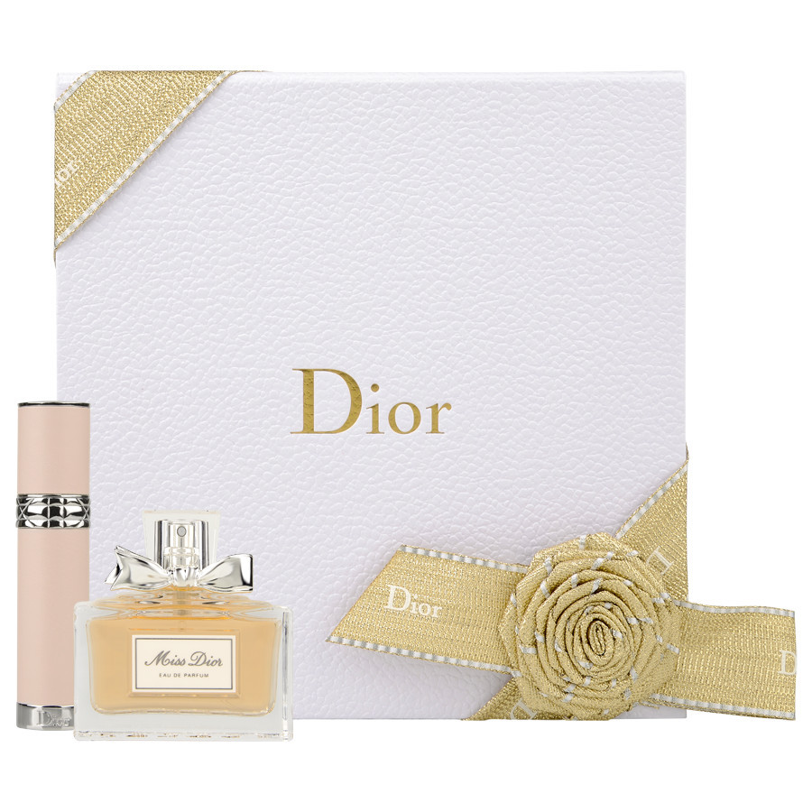 Zestaw Miss Dior: mleczko do ciała, żel pod prysznic i dezodorant