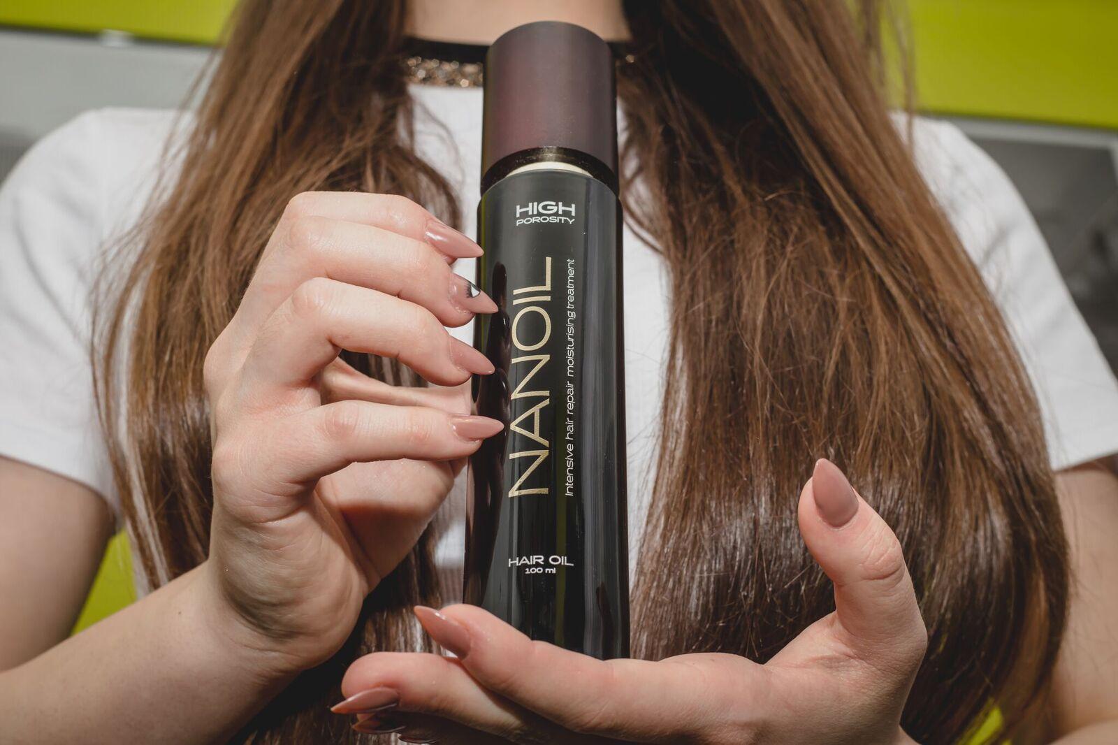 Odkrycie! Olejek Nanoil na zniszczone włosy [recenzja]